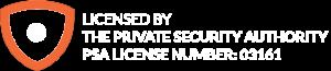 PSA Licence Number
